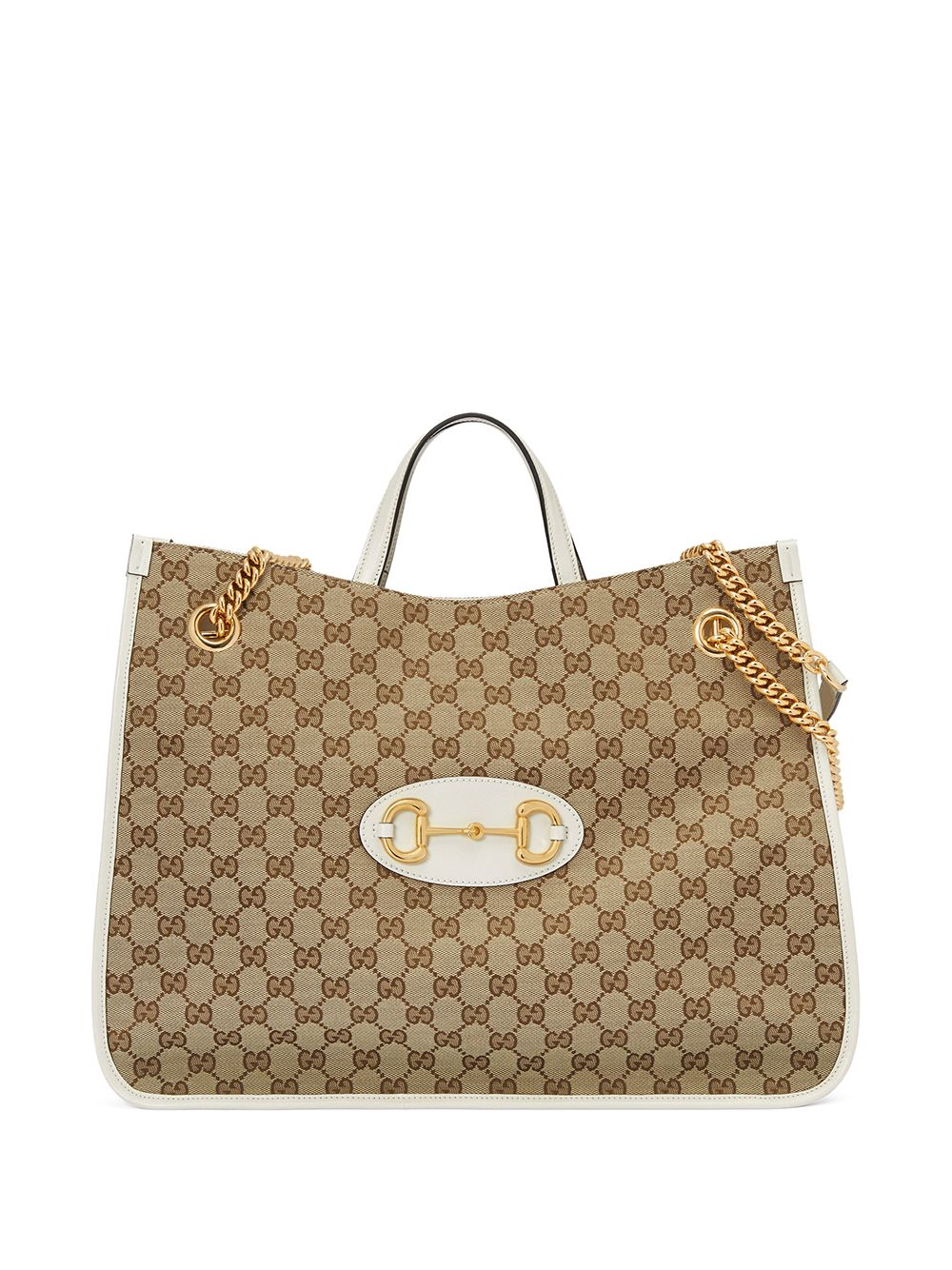 Horsebit Shopping Bag