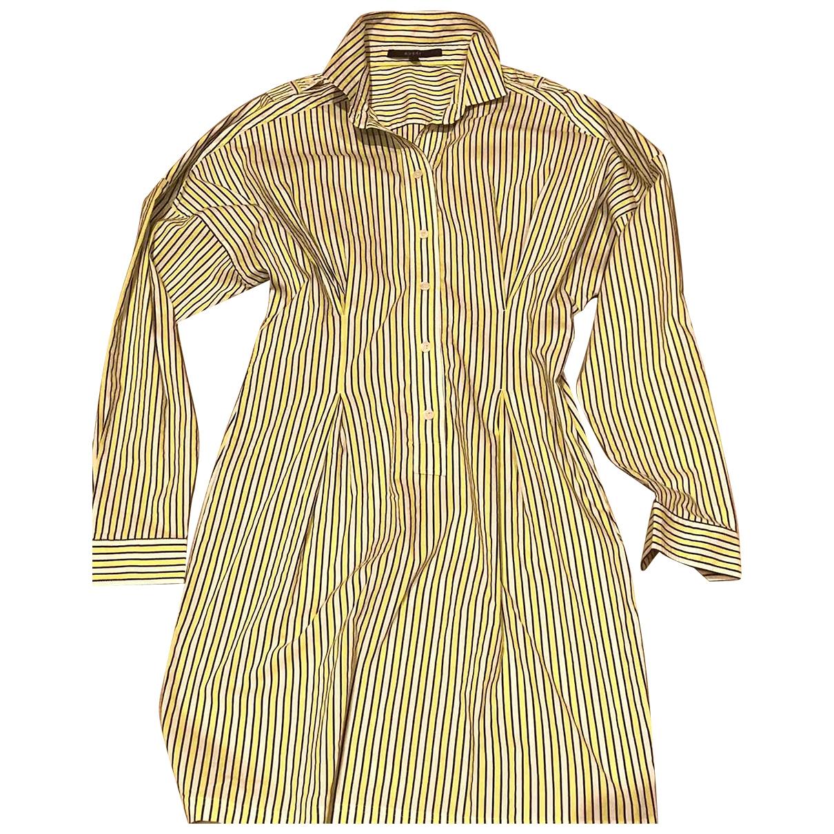 Gucci \N Kleid in Baumwolle - Elasthan