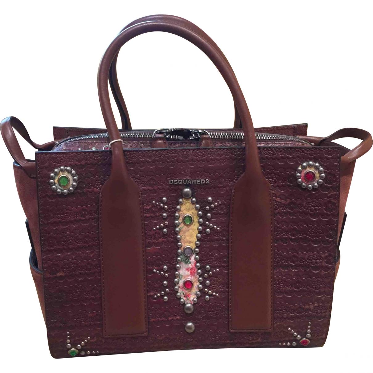 Dsquared2 \N Brown Suede handbag for Women \N