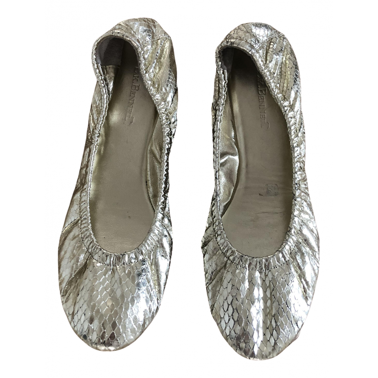 Lk Bennett N Gold Water snake Ballet flats for Women 38 EU