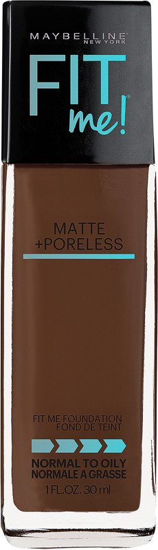 Fit Me Matte + Poreless Liquid Foundation - Java 375