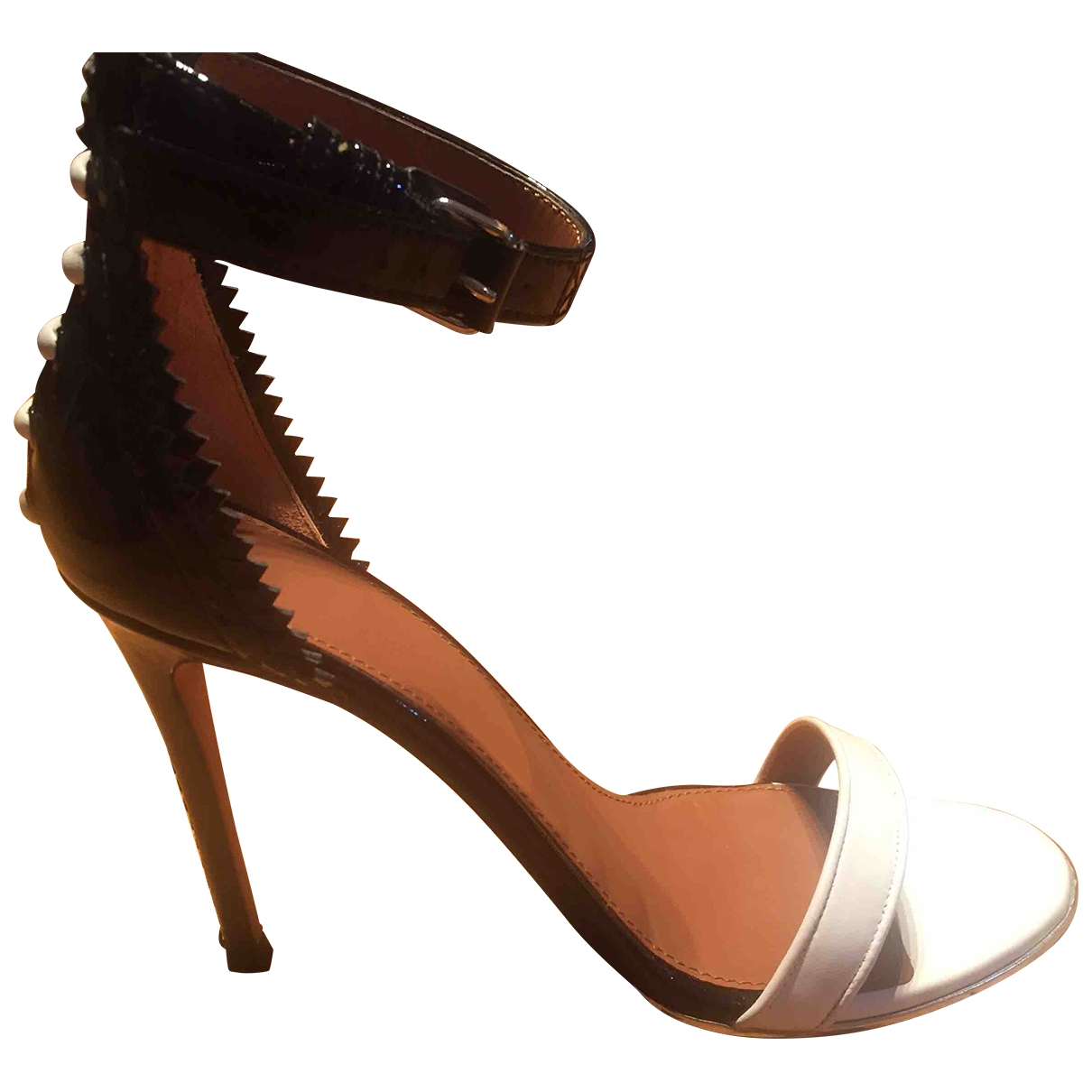Sandalias romanas de Cuero Givenchy