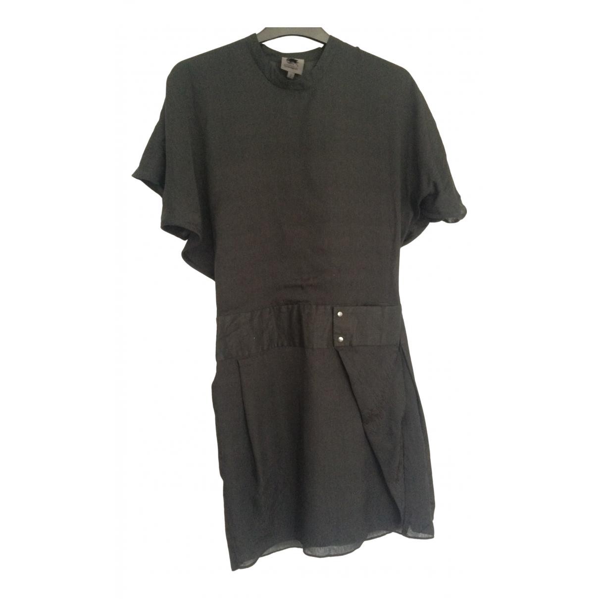 Calvin Klein - Robe   pour femme en soie - noir