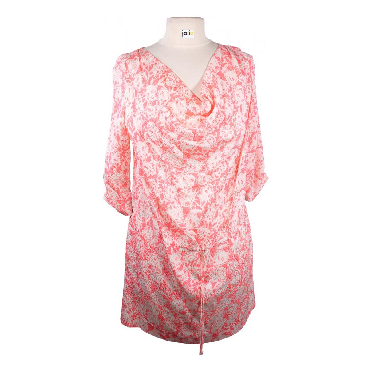 Paul & Joe N Pink Silk dress for Women 40 FR