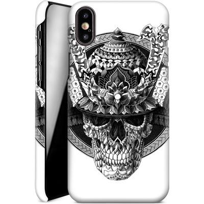 Apple iPhone X Smartphone Huelle - Samurai Skull von BIOWORKZ