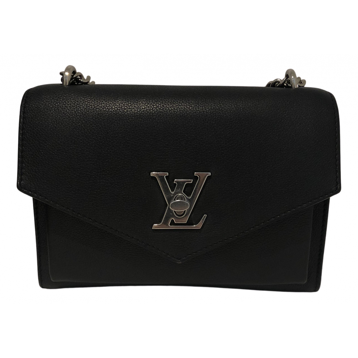 Louis Vuitton Mylockme Black Leather handbag for Women N