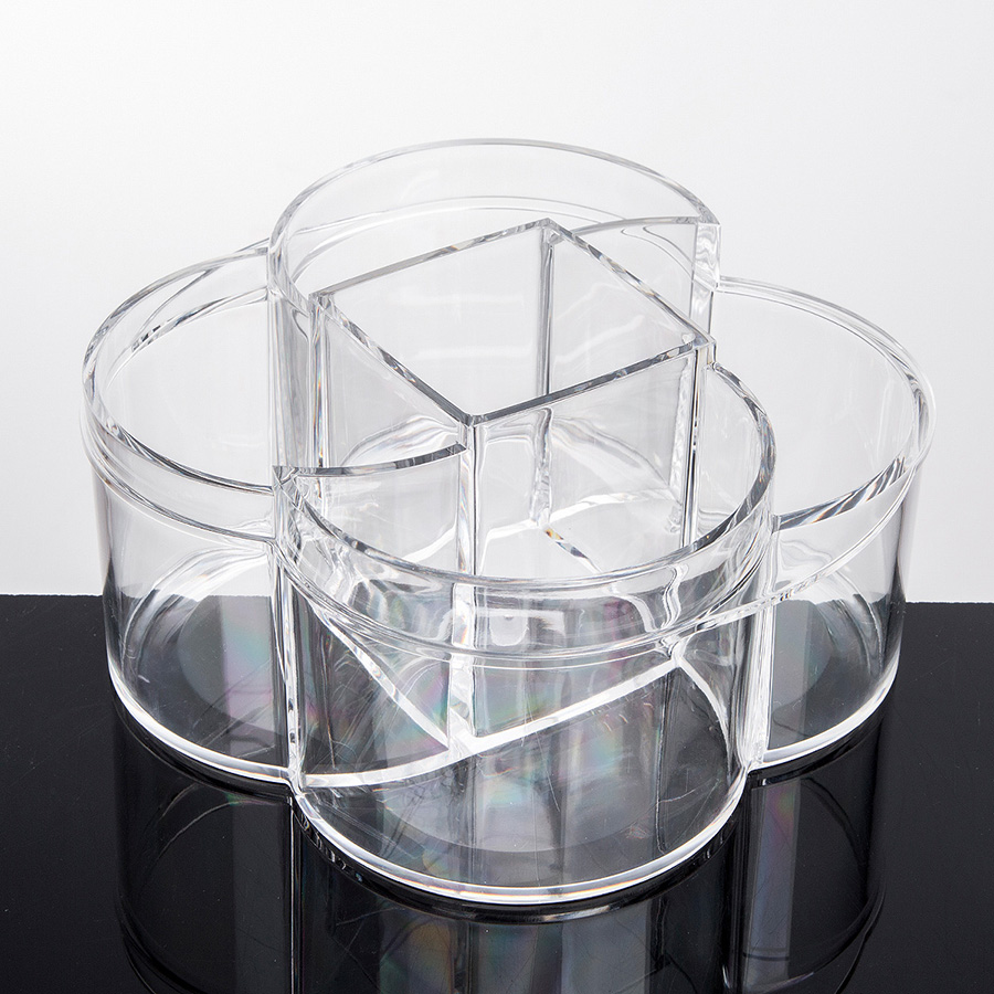 Environment Friendly Acrylic Material 17.0*15.5*8.5cm Cosmetic Storage Box
