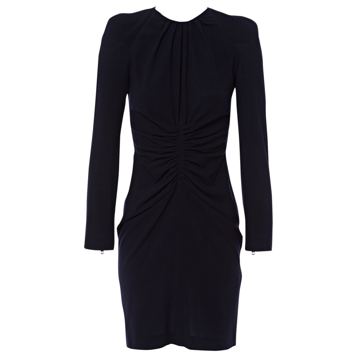 Givenchy \N Kleid in  Marine Wolle
