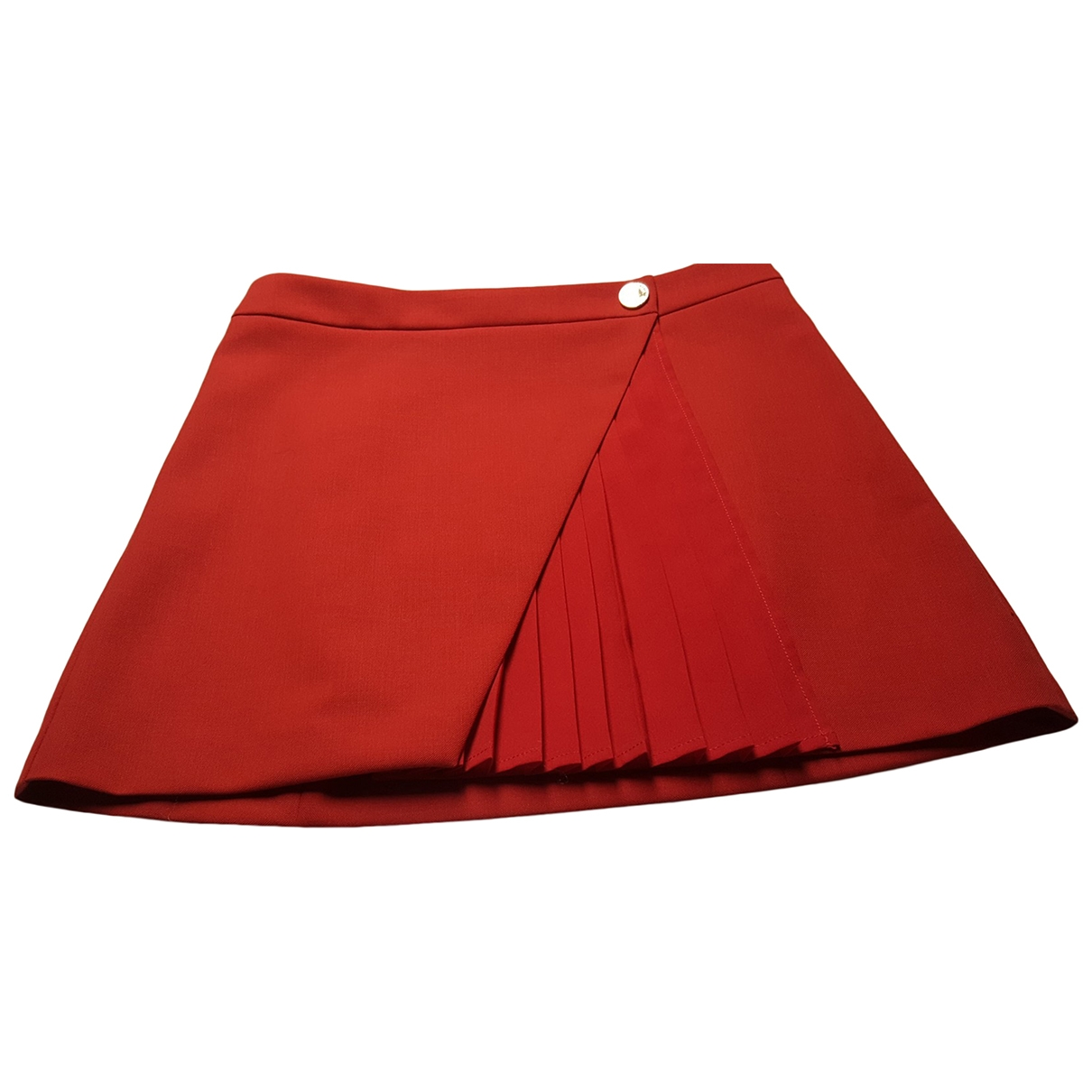 Patrizia Pepe \N Red Cotton skirt for Women 40 IT