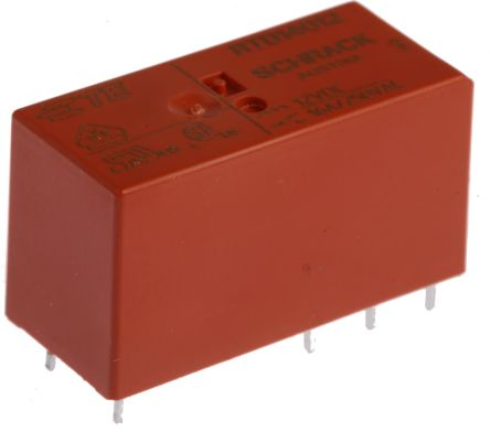 TE Connectivity , 12V dc Coil Non-Latching Relay SPDT, 16A Switching Current PCB Mount Single Pole (500)