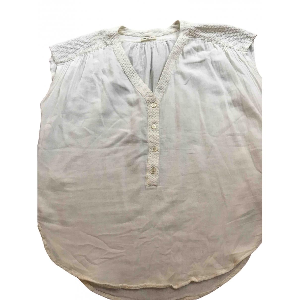Masscob \N Ecru Cotton  top for Women S International