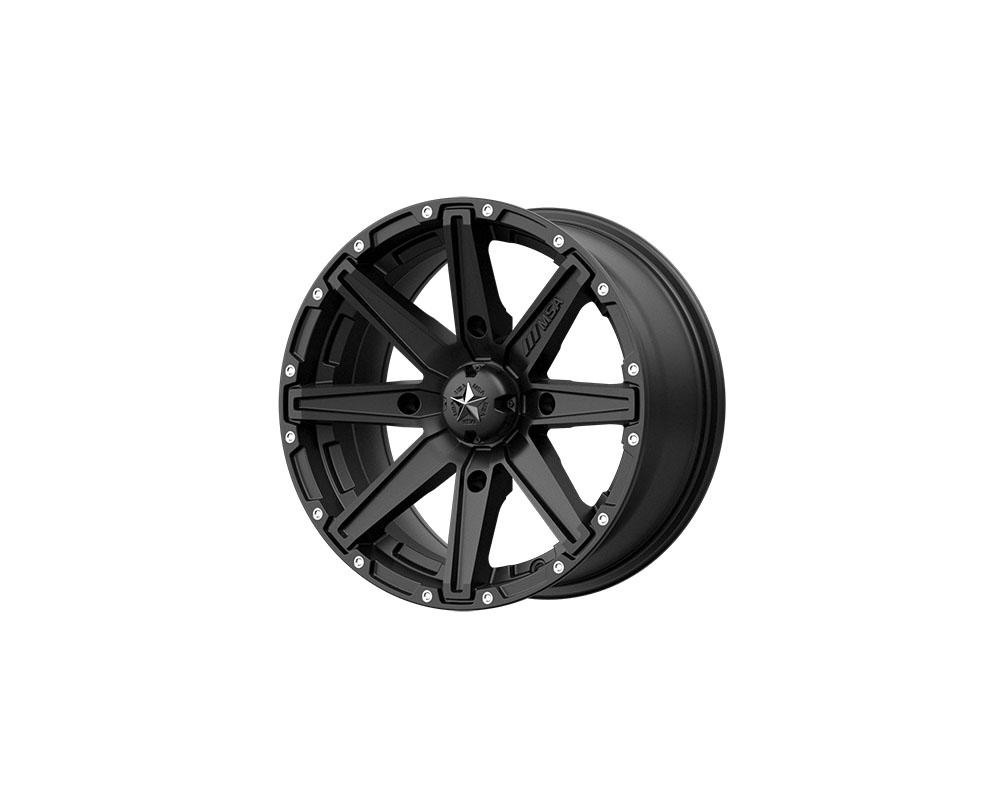 MSA Offroad Wheels M33-05756 M33 Clutch Wheel 15x7 4x4x156 +10mm Satin Black