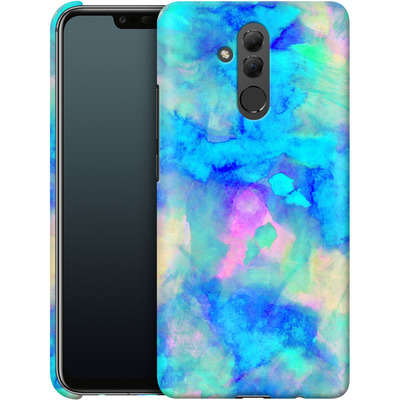 Huawei Mate 20 Lite Smartphone Huelle - Electrify Ice Blue von Amy Sia