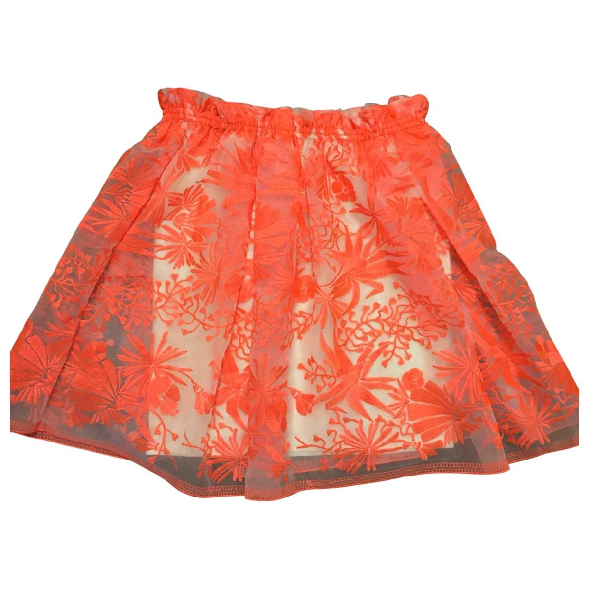 Maje \N Rocke in  Orange Polyester