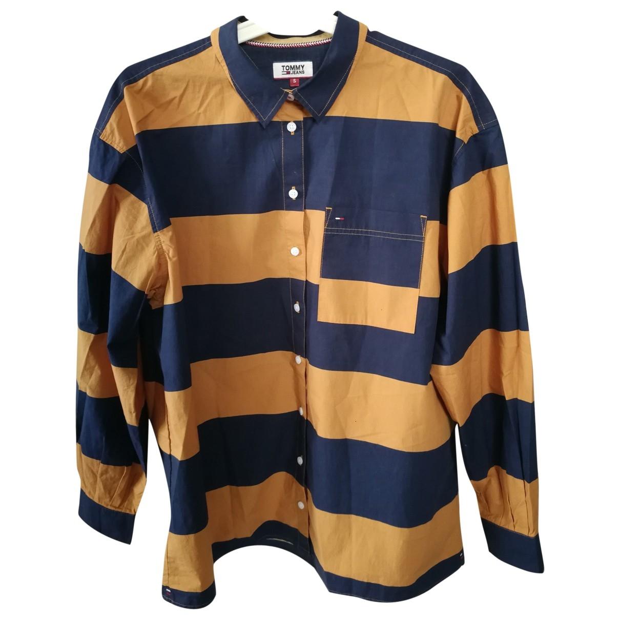 Tommy Hilfiger \N Camel Cotton Shirts for Men M International