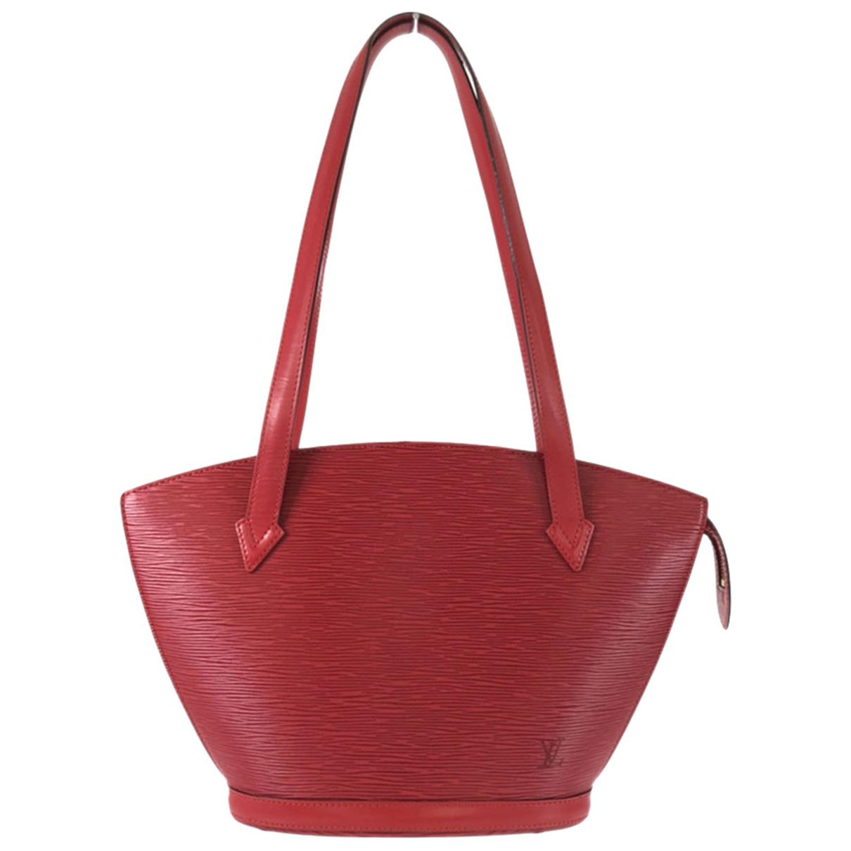Louis Vuitton Saint Jacques Red Leather handbag for Women N