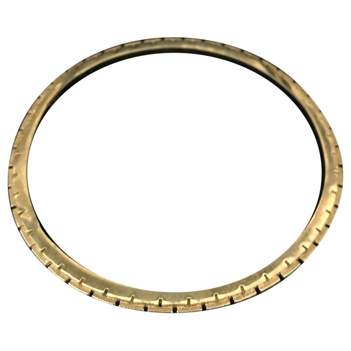 Trifari - Bracelet   pour femme en plaque or - dore