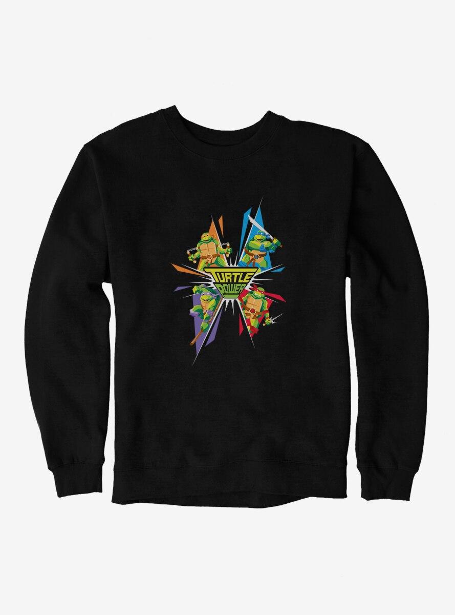 Teenage Mutant Ninja Turtles Turtle Power Group Colors Sweatshirt