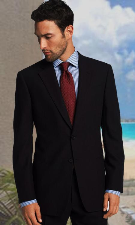 2 Button Solid Charcoal Gray Suit With 1 Pleated Pant