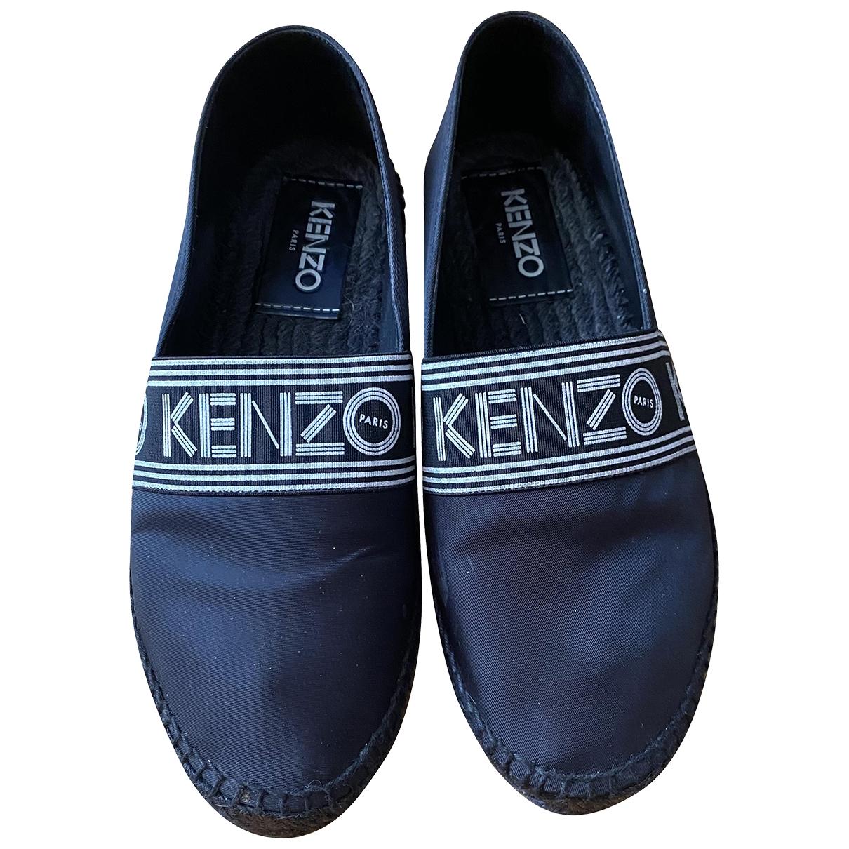 Kenzo \N Espadrilles in  Schwarz Leinen