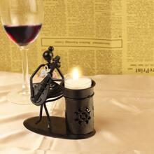 1pc Iron Candle Holder