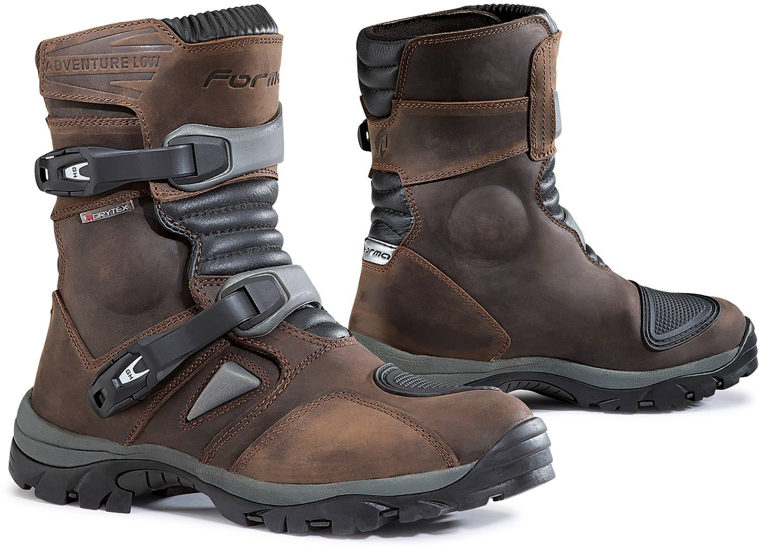Forma Adventure Low Botas Motorista Marrón 45