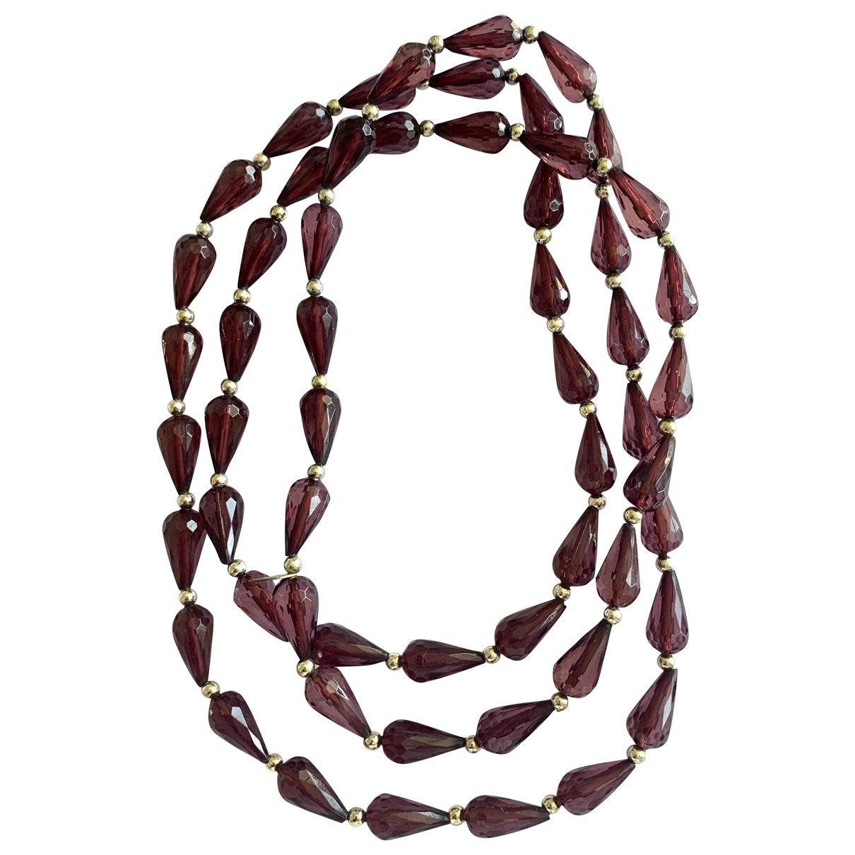 - Collier Motifs Ethniques pour femme en autre - violet