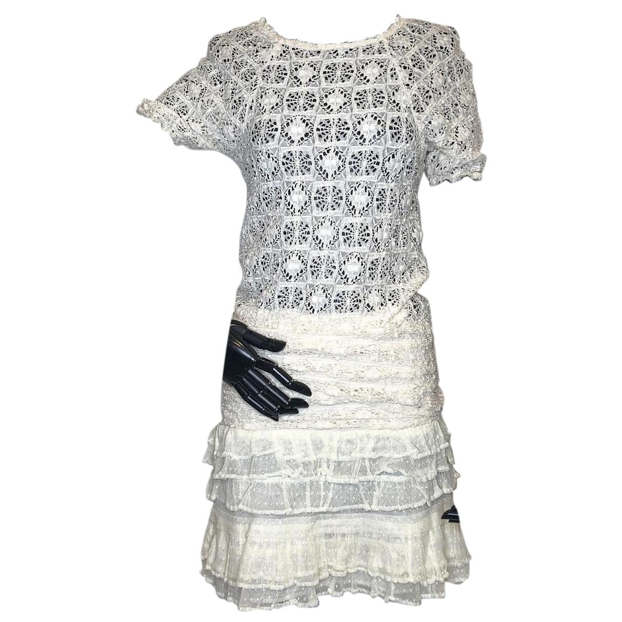 Isabel Marant - Robe   pour femme en coton - blanc