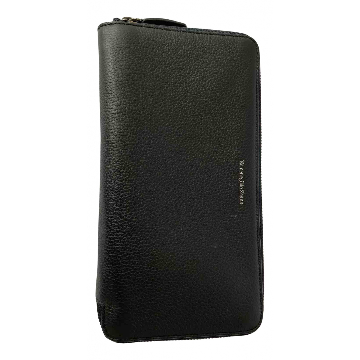 Ermenegildo Zegna N Black Leather Small bag, wallet & cases for Men N