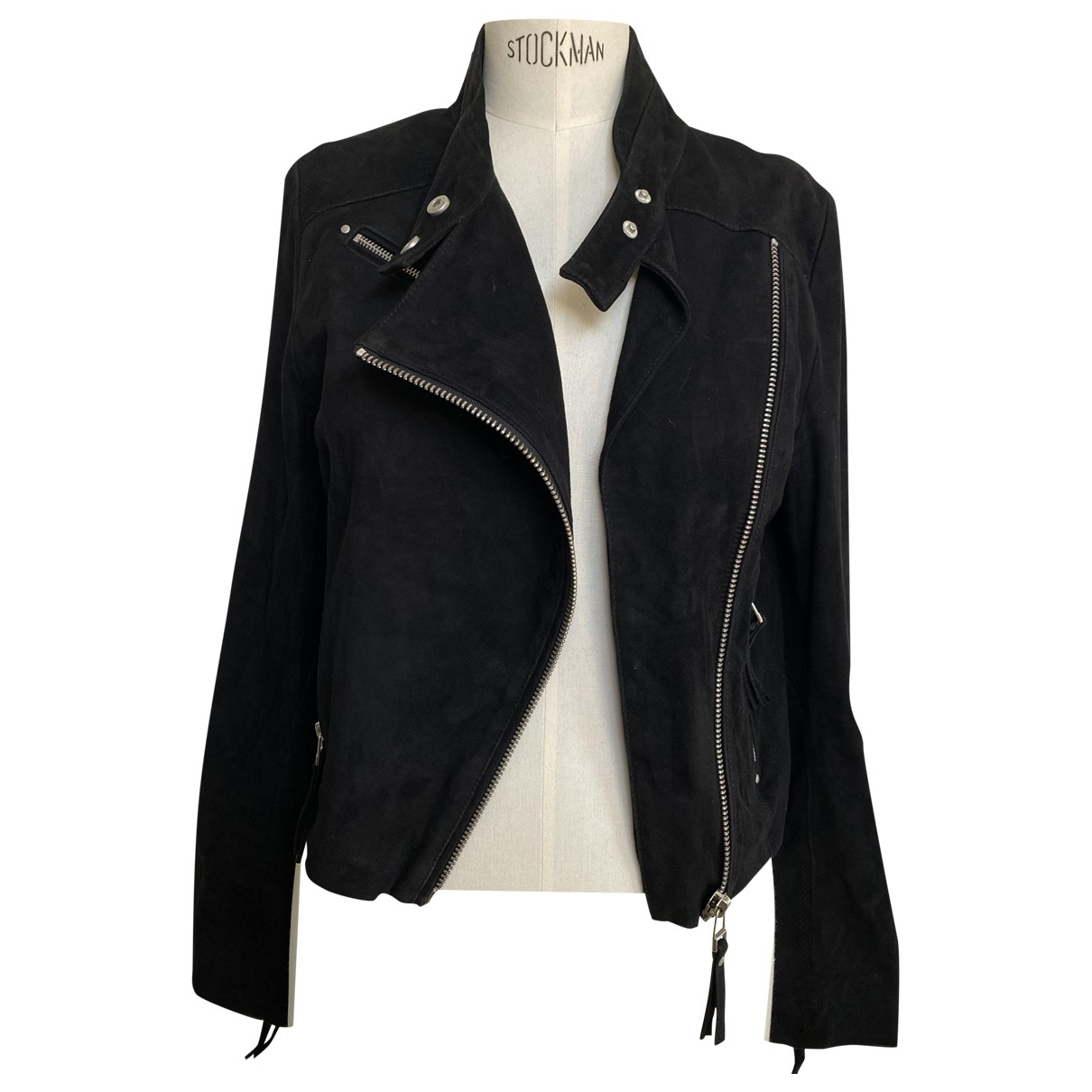 Iro \N Black Suede Leather jacket for Women 1 0-5