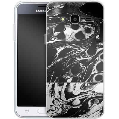 Samsung Galaxy J3 (2016) Silikon Handyhuelle - Marble Reverse von Amy Sia