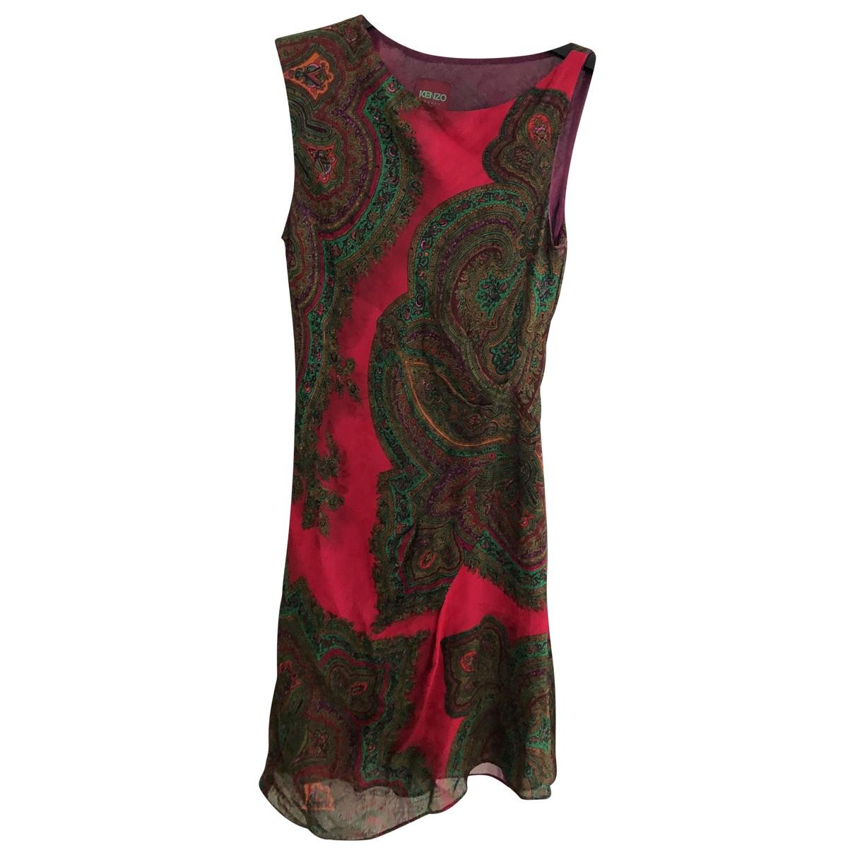 Kenzo \N Multicolour Linen dress for Women 38 FR