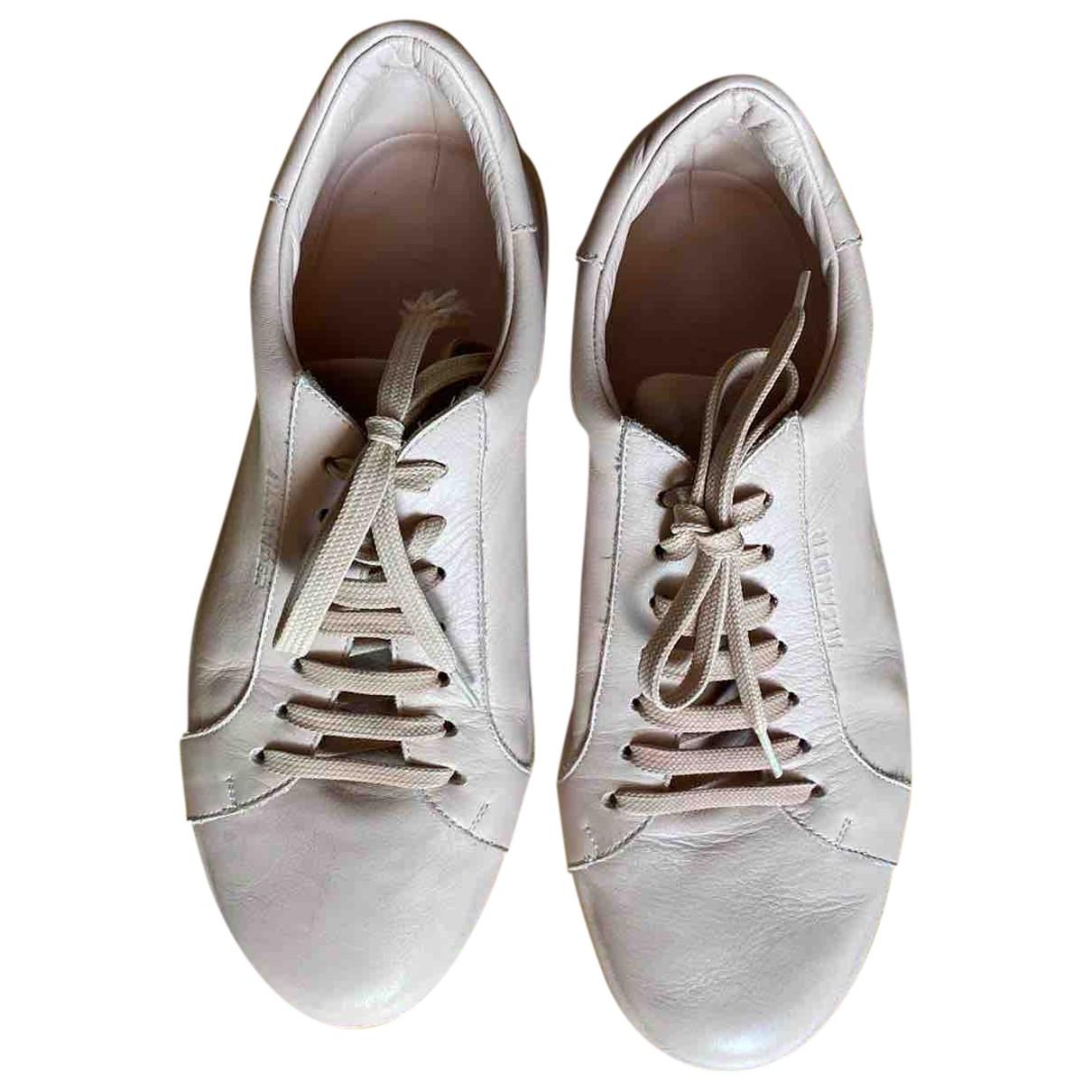 Jil Sander \N Sneakers in  Rosa Leder
