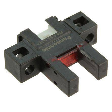 Panasonic PM-65 Photoelectric Sensor Through Beam (Fork) 6 mm Detection Range NPN