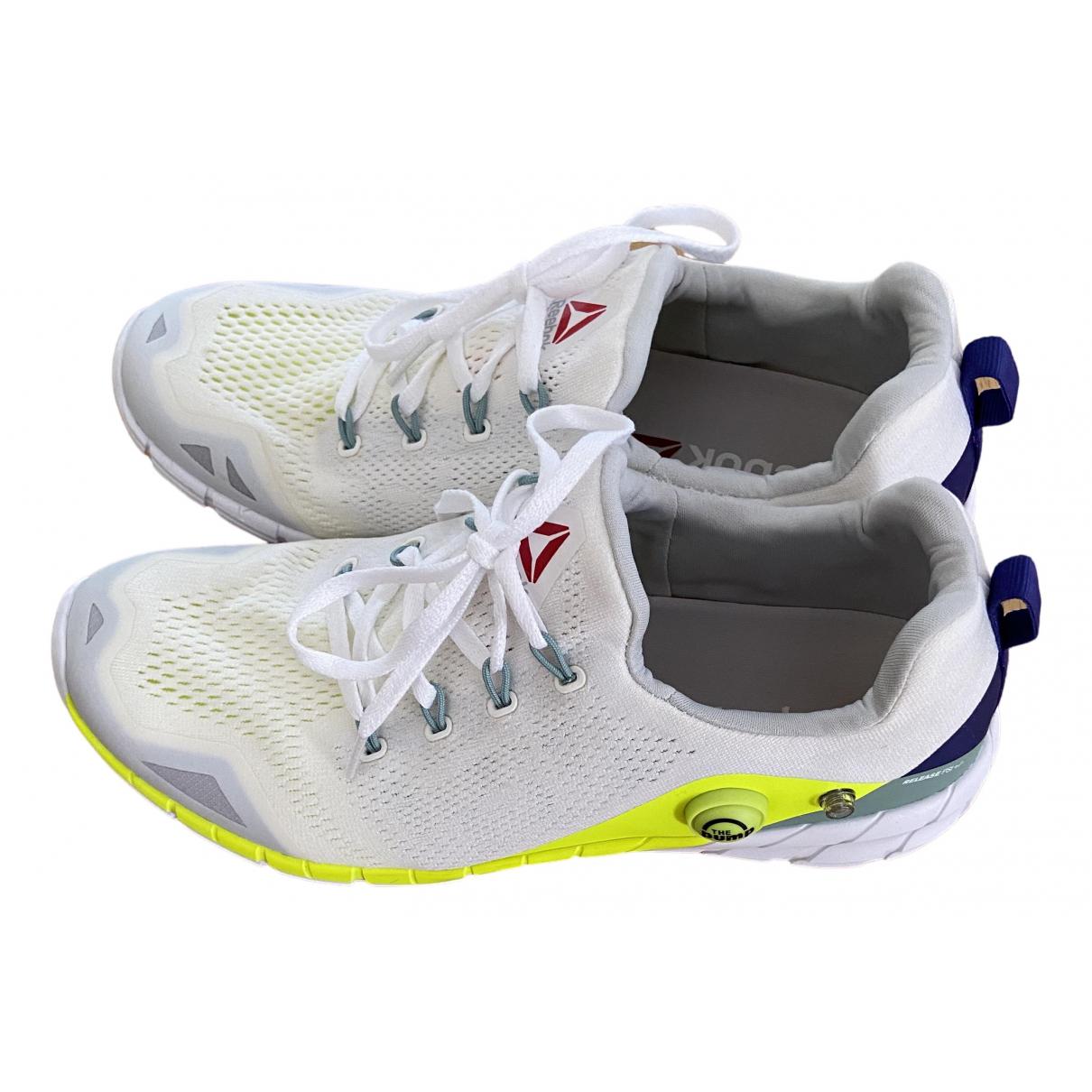 Reebok \N Sneakers in  Weiss Leinen