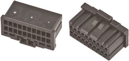 TE Connectivity , Dynamic 1000 Female Connector Housing, 2mm Pitch, 20 Way, 2 Row (5)
