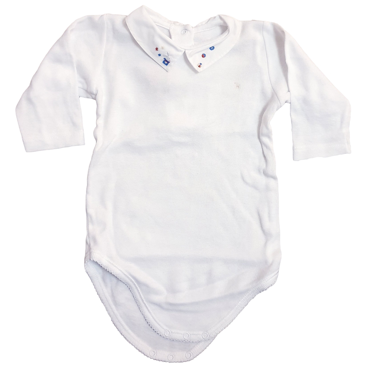 Bonpoint \N White Cotton Outfits for Kids 6 months - up to 67cm FR