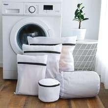 Set de bolsa de lavanderia con malla 5 piezas