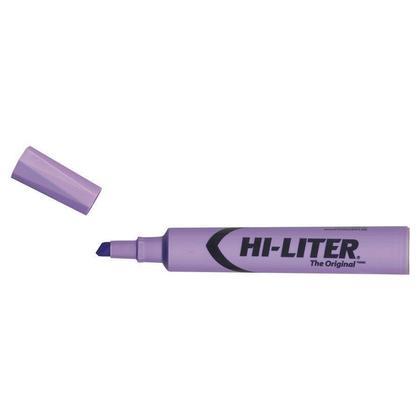 Avery HI-LITER@ Desk-Style Chisel Point Highlighter Pen - Purple 778043