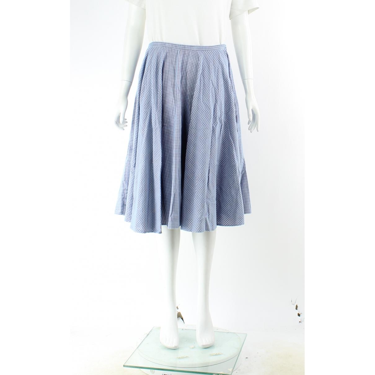 J.w. Anderson \N Blue Cotton skirt for Women 8 UK