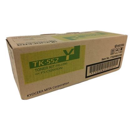 Kyocera-Mita TK-552Y cartouche de toner originale jaune pour l'imprimante FS-C5200DN