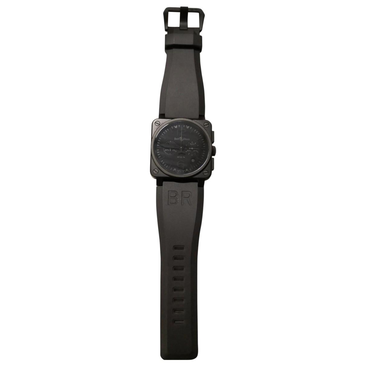 Bell & Ross - Montre BR03-94 pour homme en acier - noir