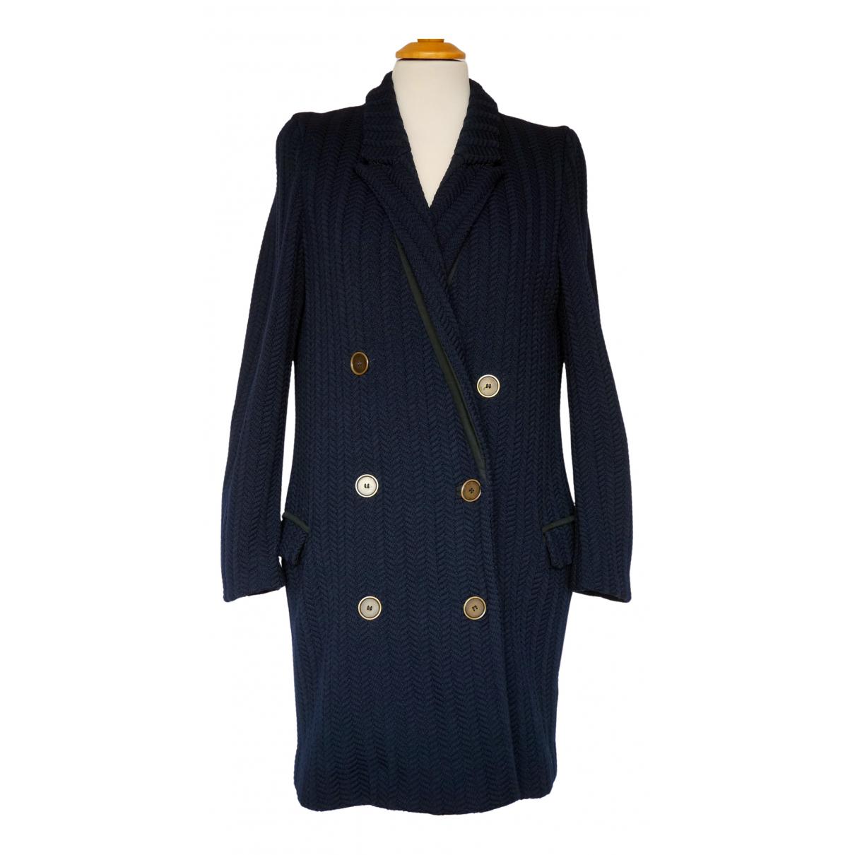 Isabel Marant N Navy Cotton coat for Women 36 FR