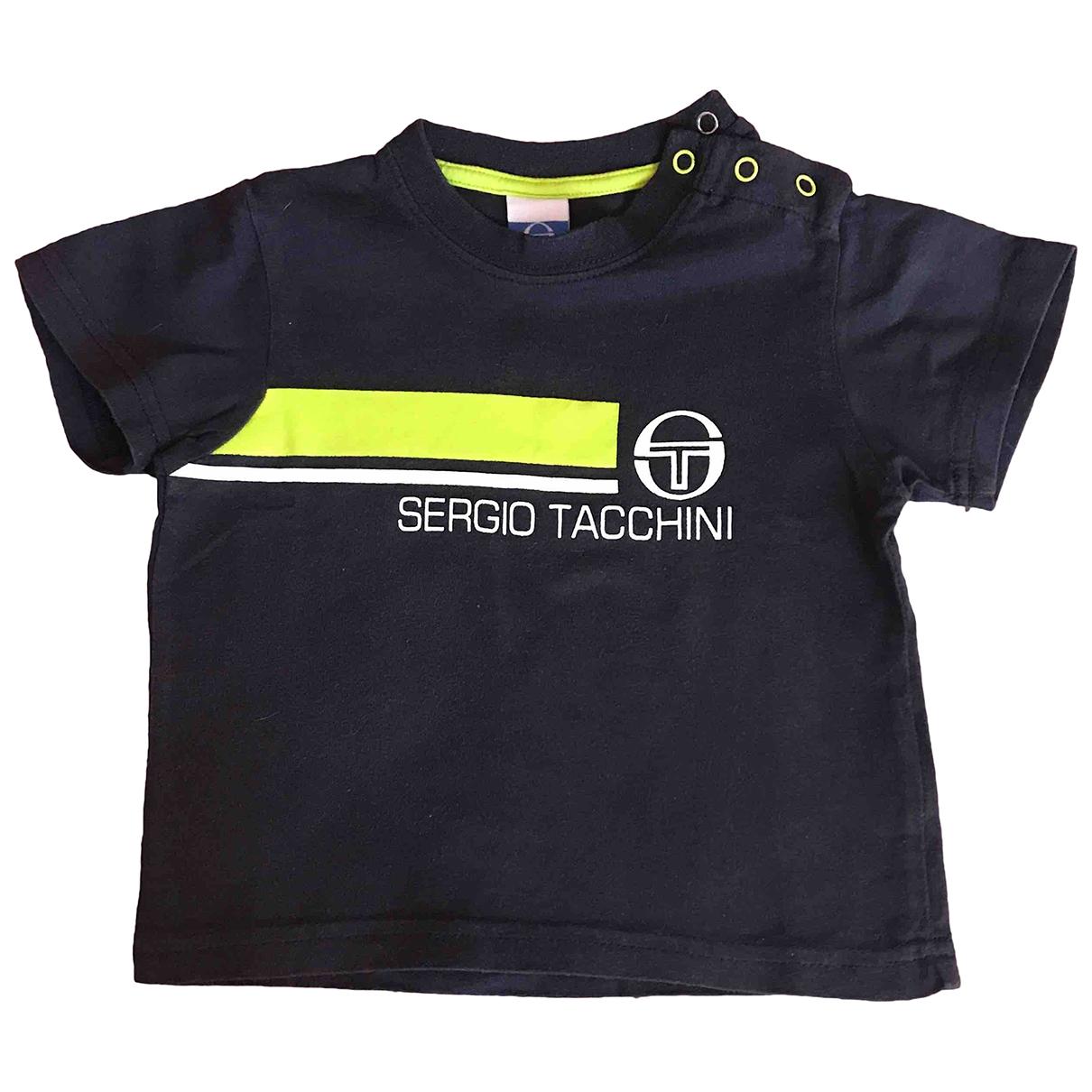 Sergio Tacchini \N Oberteile in  Blau Baumwolle