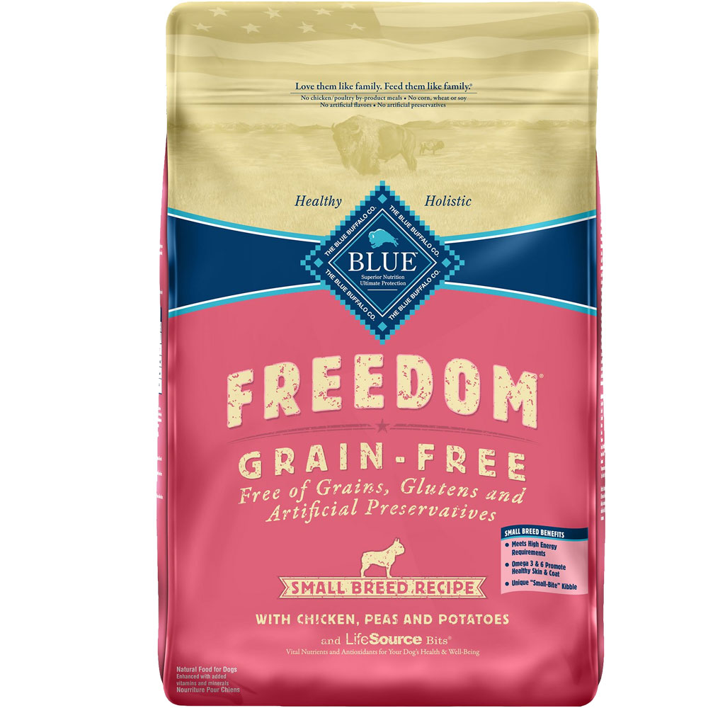 Blue Buffalo Freedom Grain-Free Small Breed Recipe - Chicken, Potatoes & Peas (11 lb)