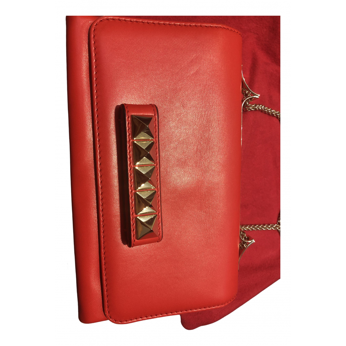 Valentino Garavani Vavavoom Red Leather handbag for Women \N