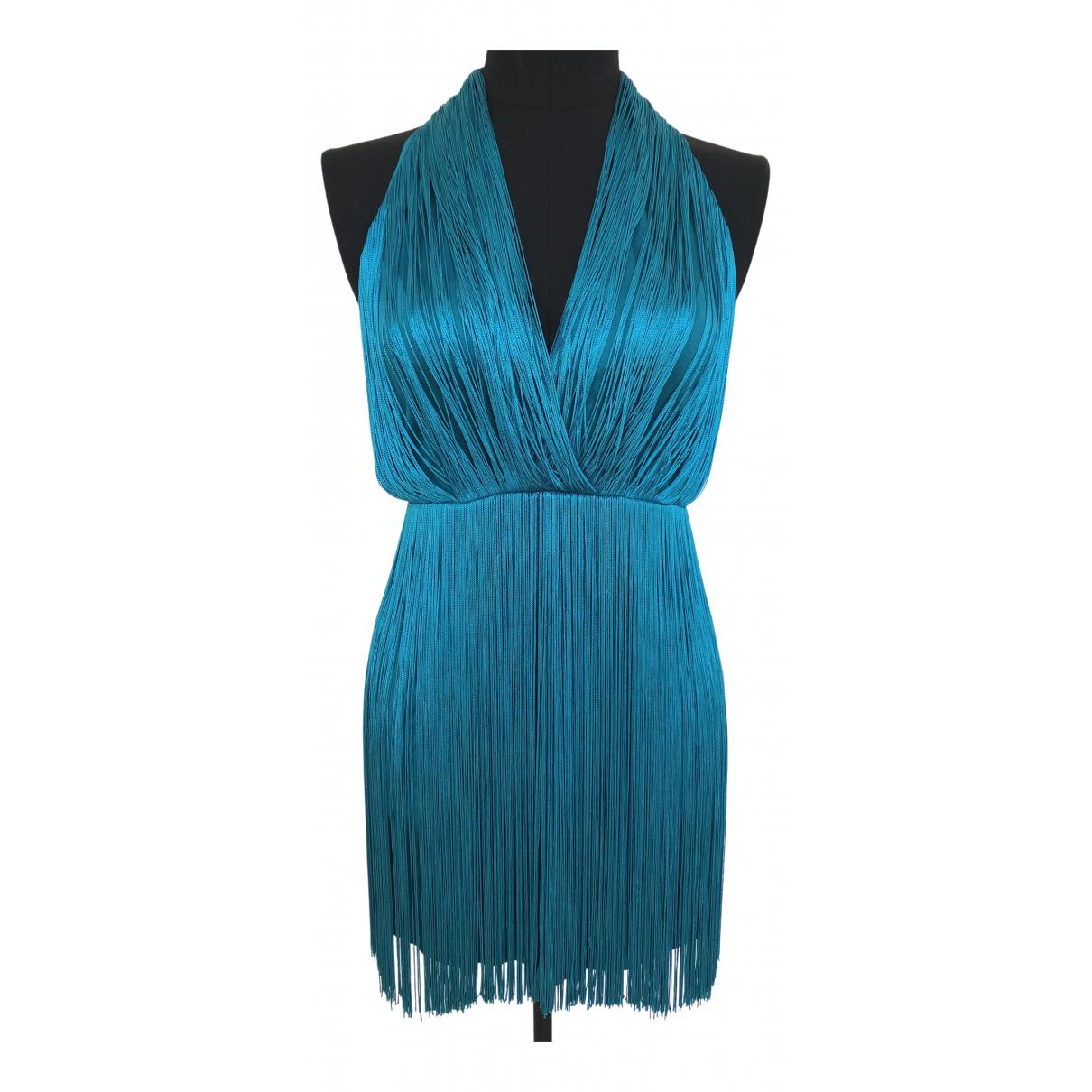 Tamara Mellon \N Kleid in  Blau Viskose