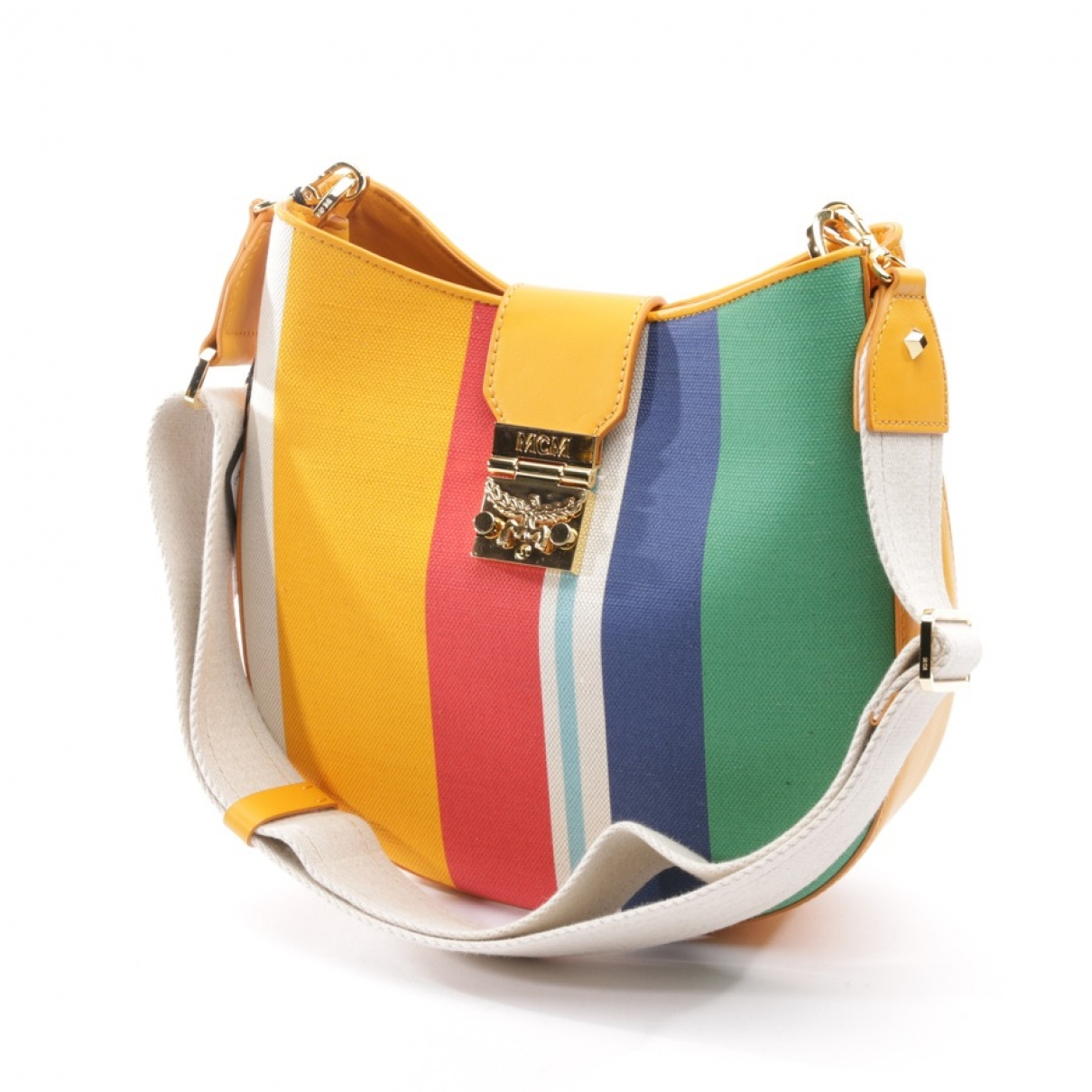Mcm \N Multicolour Cloth handbag for Women \N