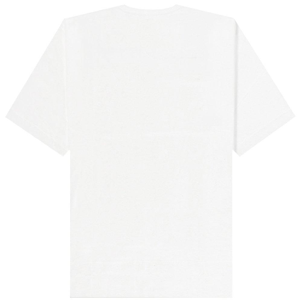 Versace Jeans Couture Printed Logo T-Shirt Colour: WHITE, Size: MEDIUM