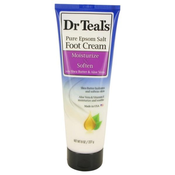 Dr TealS Pure Epsom Salt Foot Cream - Dr Teals Crema corporal 227 ml